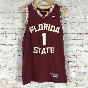 VTG Florida State Nike Basketball Jersey Size L